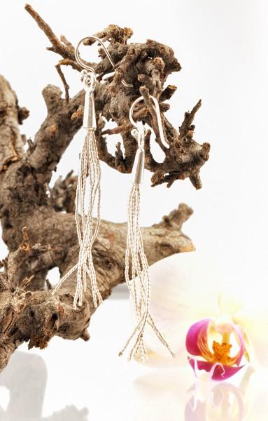 Filigraner Silber Ohrschmuck aus Thailand