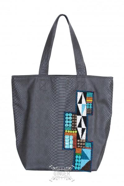 Einkaufstasche, Shopping bag, Kunstleder