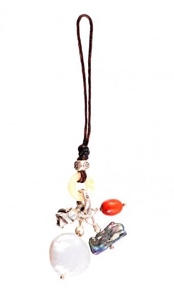 Taschenanhänger, Motiv: Mond