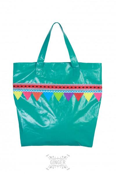 Shopping bag, Grösse: M / Grün