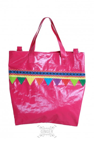 Shopping bag, Grösse: M / Pink