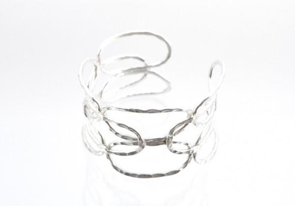 Eleganter Silberschmuck