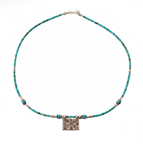 Türkis Halskette